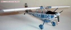 """Журнал Бумажная модель - Aeroplanes DAR-21 LZ-DPI """"Police"""""""
