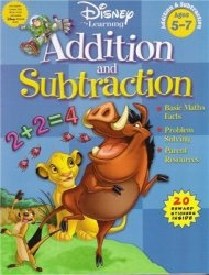 Книга Disney Addition & Subtraction : Grade 1 (Disney Workbooks)