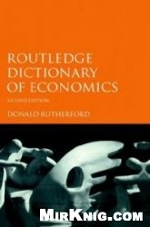 Книга Routledge Dictionary of Economics