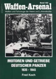 Книга Waffen-Arsenal - 182 - Motoren und Getriebe Deutscher Panzer 1935-1945