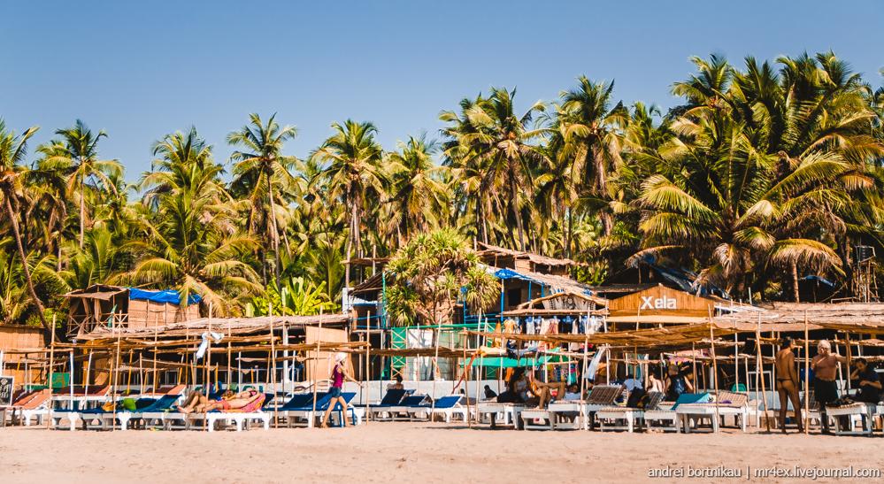 Индия, Гоа, Ашвем, море, Goa, Ashvem