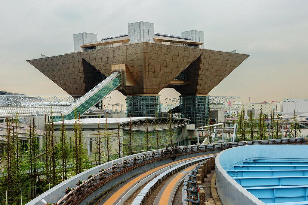 Токио. Международный Выставочный Центр.