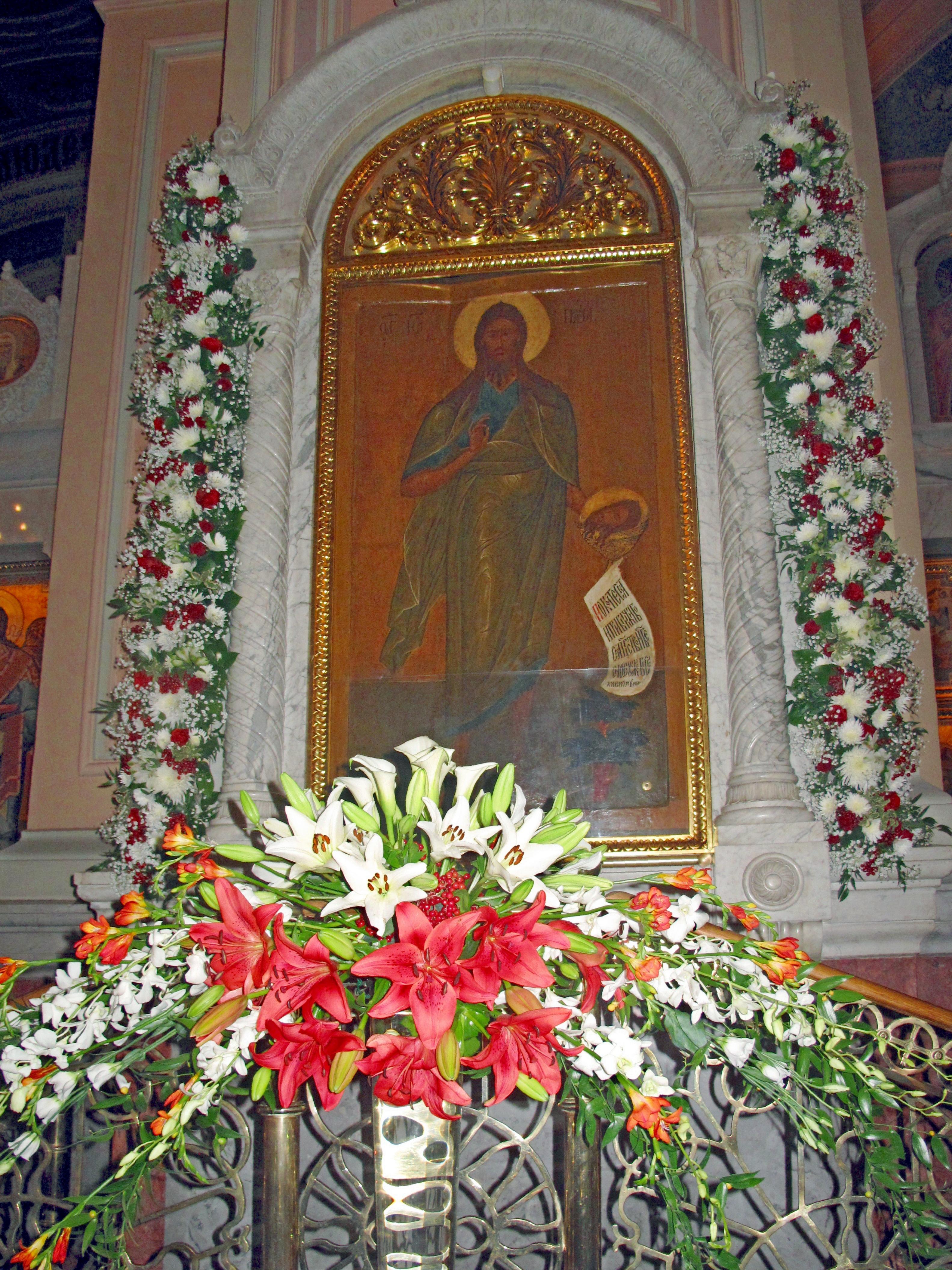 11 сентября 2015 года в Иоанно-Предтеченском монастыре
