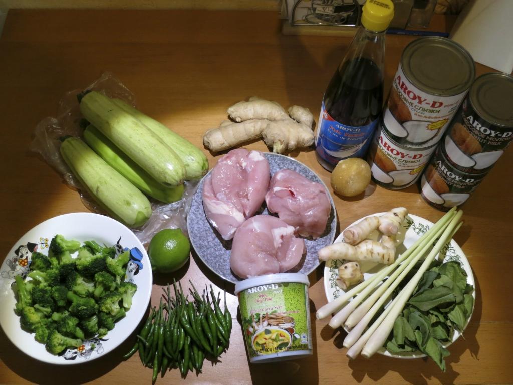 рецепт прон карри