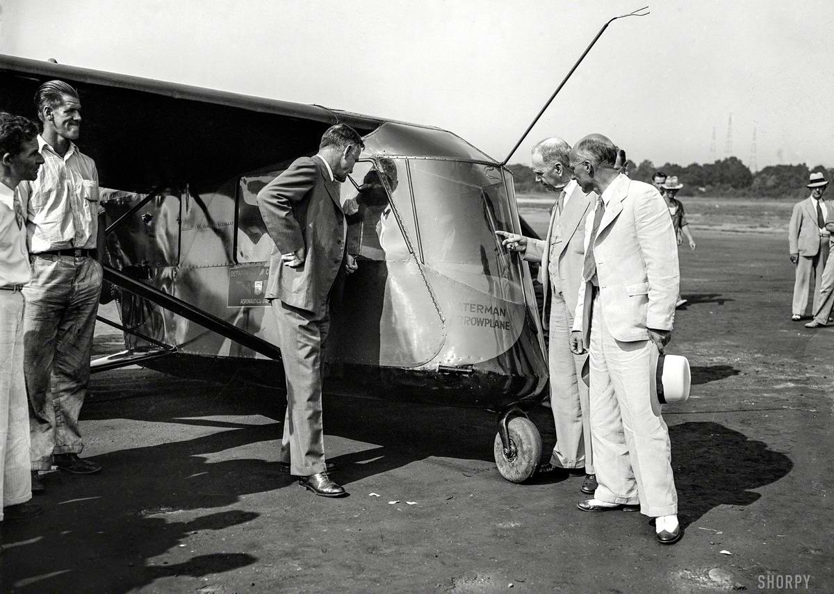 Самолеты и пилоты начала 20-го века на снимках американских фотографов (39)