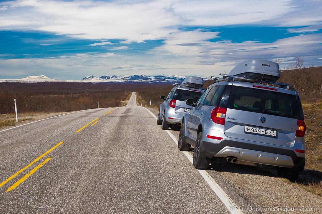 Автомобильное путешествие по Норвегии