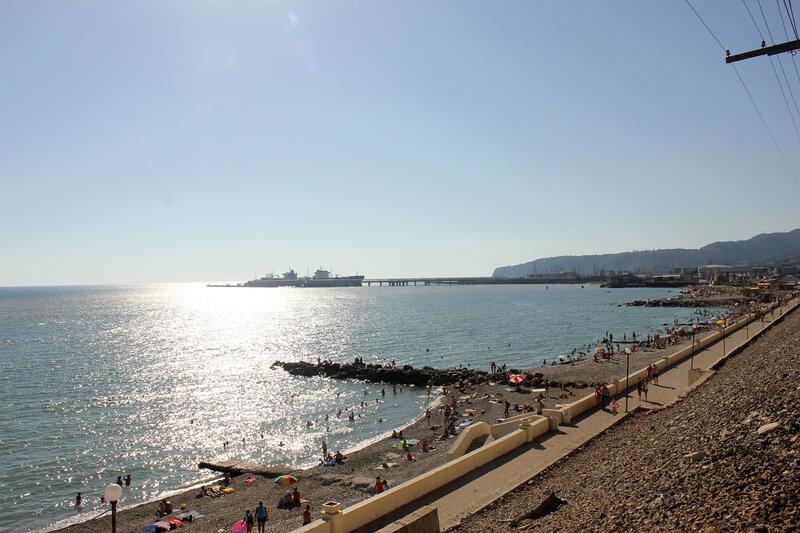 Чёрное море в районе Туапсе