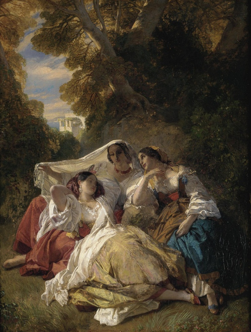 Franz Xaver Winterhalter , 1805-1873 la siesta Sotheby's