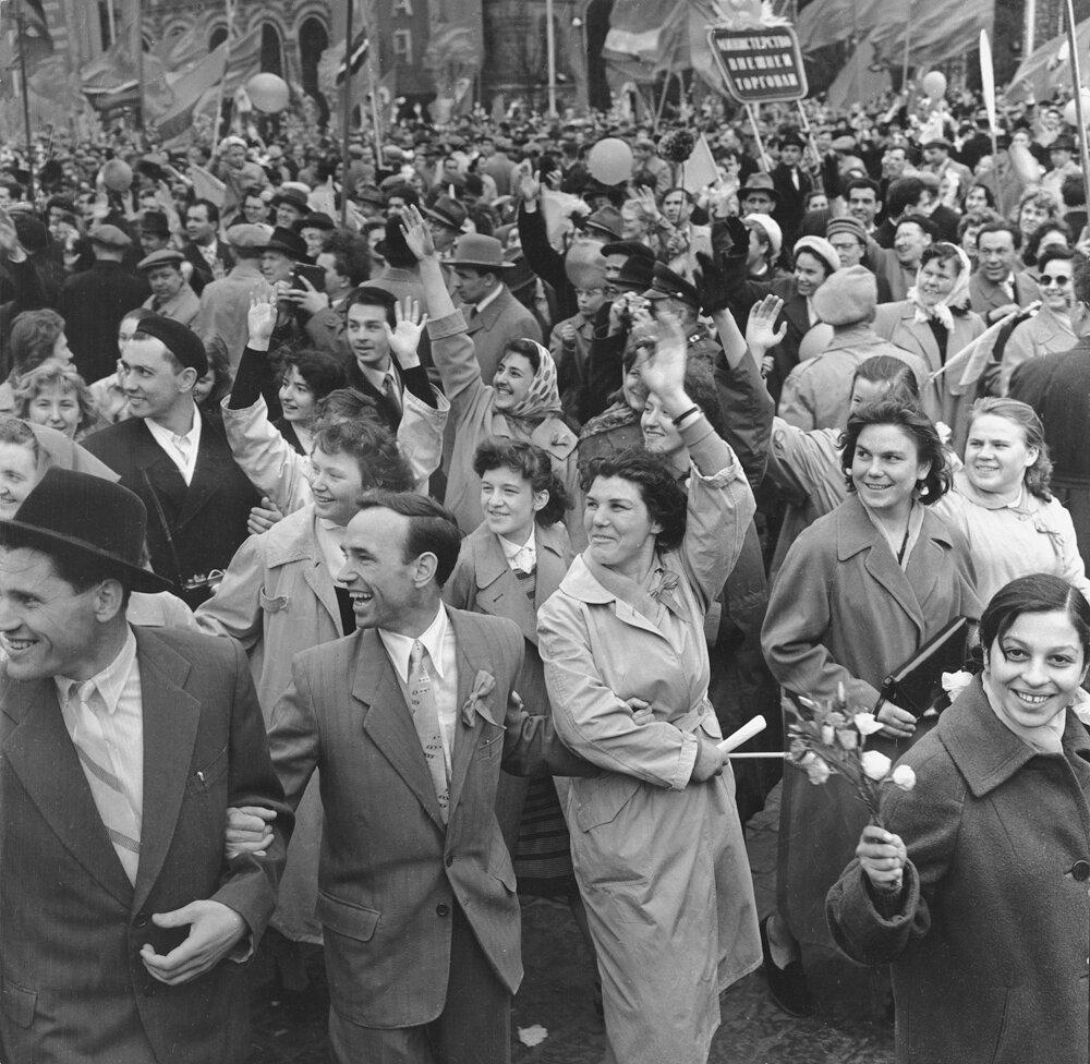 1970. Праздничная демонстрация