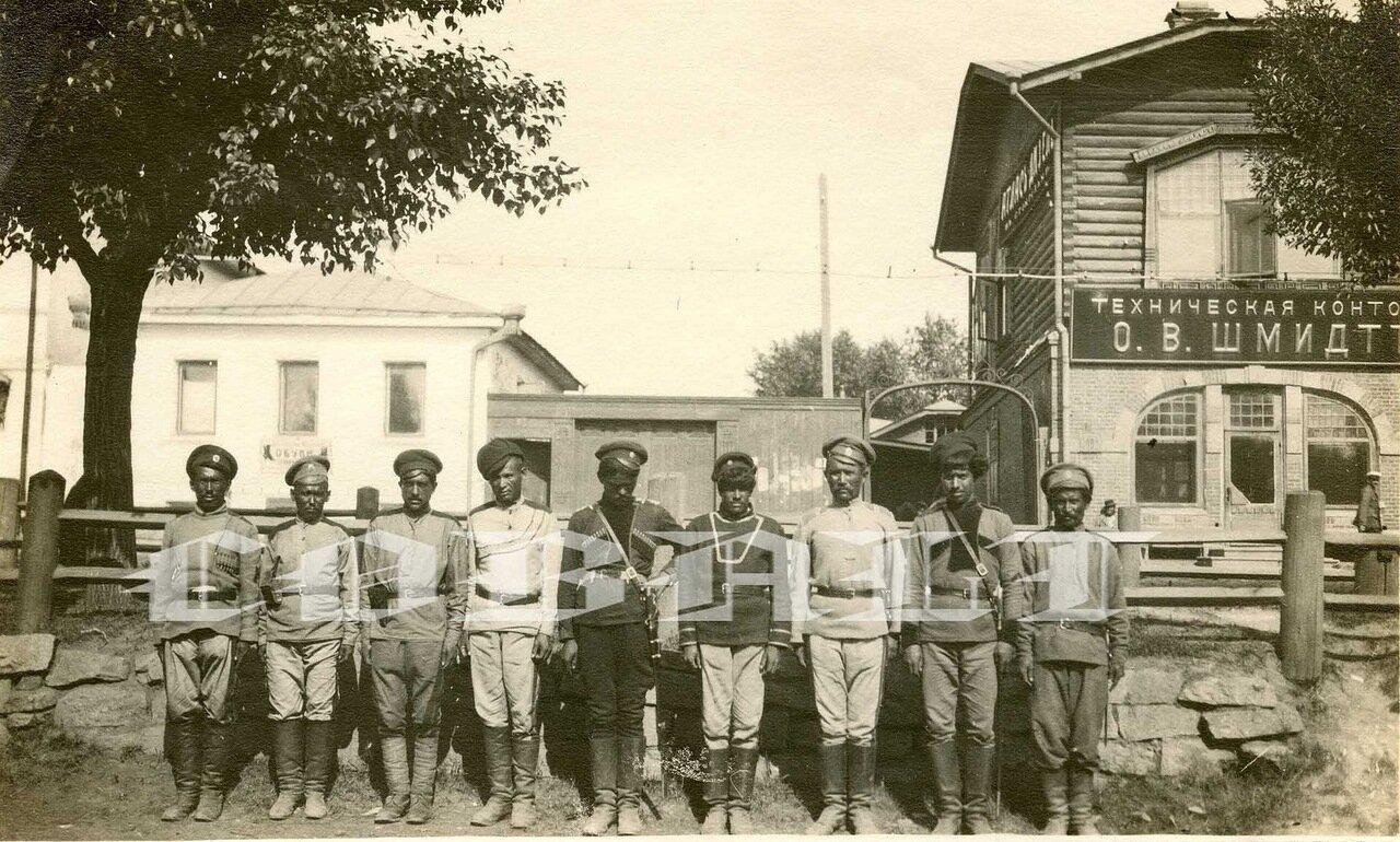 Анненковцы, Екатеринбург, июль 1919 года