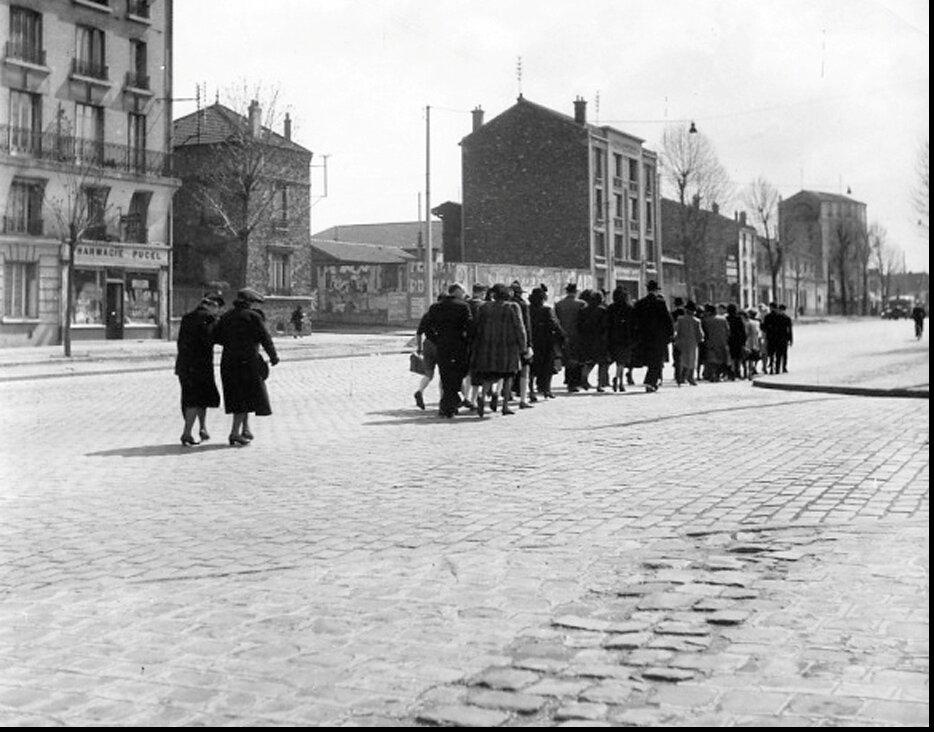 1946. Мрачная свадьба. Монруж