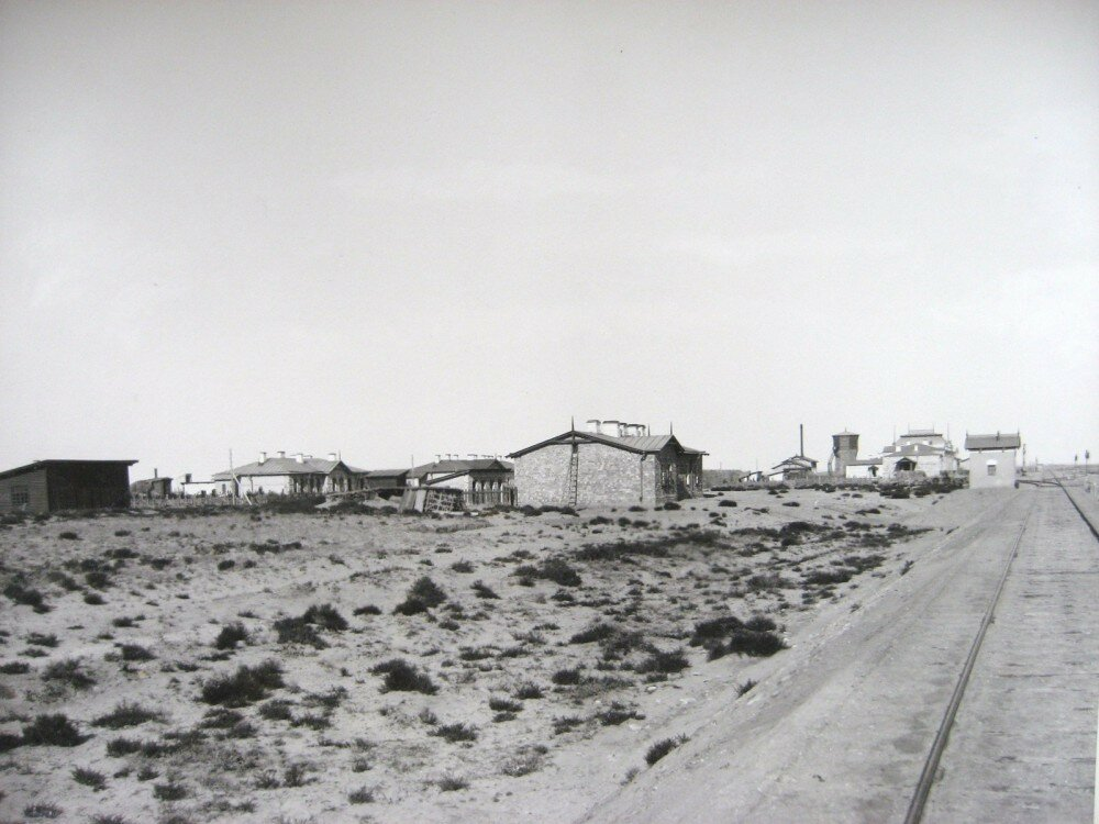 01. Вид на станцию Аральское Море