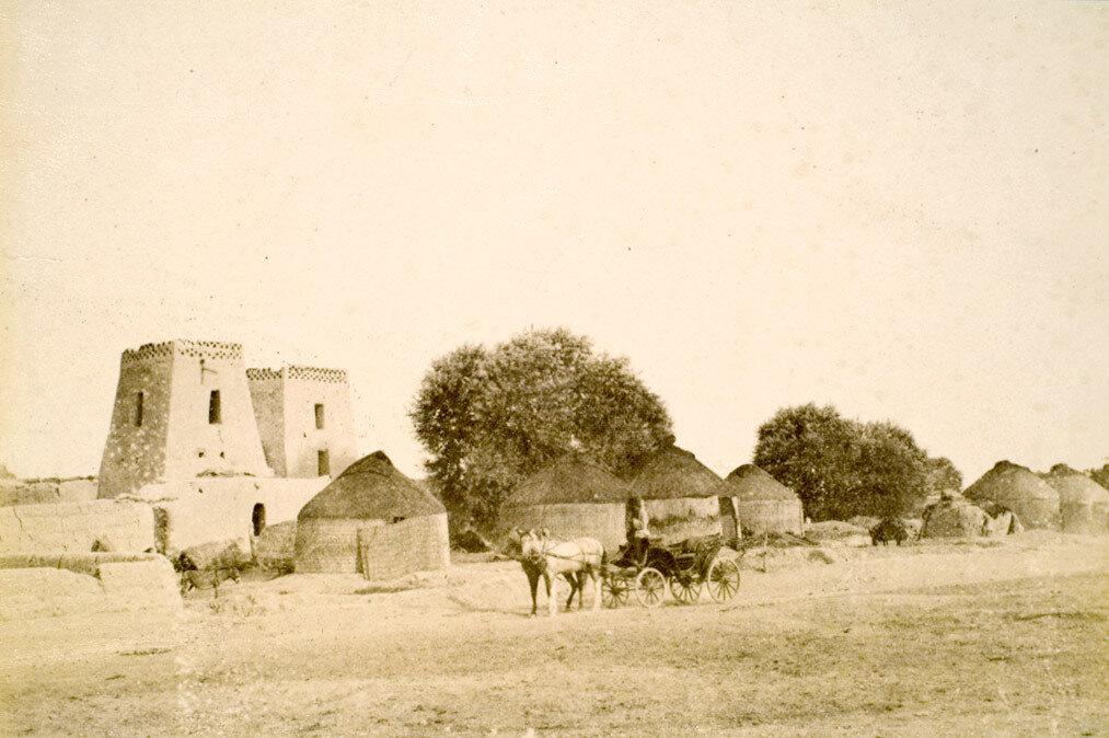 71. Мерв.  Закаспийская область. Деревня Баба-хана