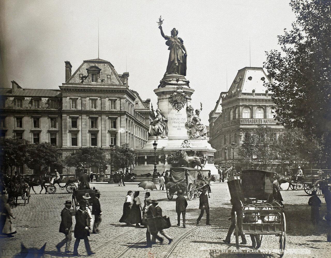 1889. Площадь Республики