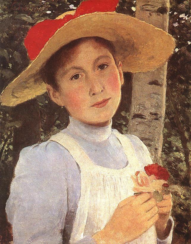 Дочь художника 1897 (Рози)
