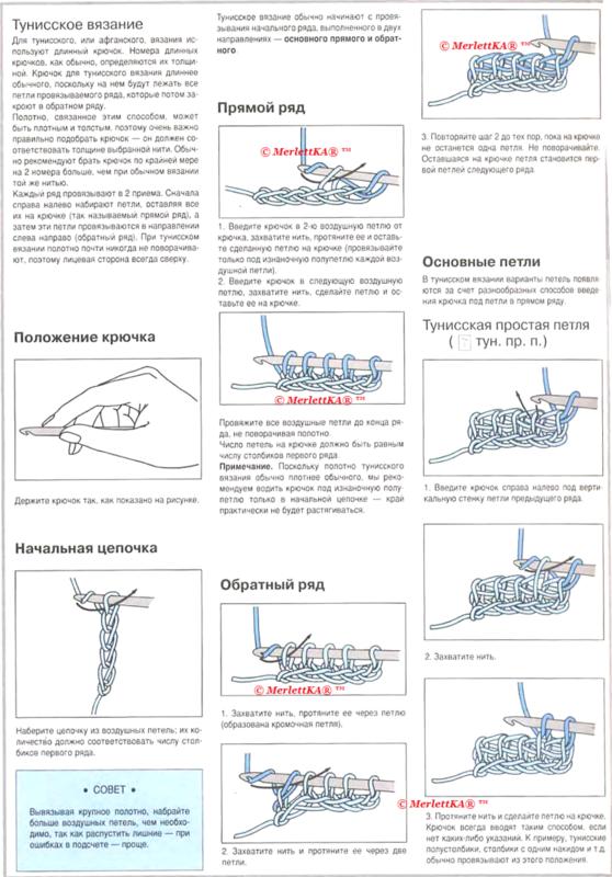 Схема рисунок при вязании крючком 900