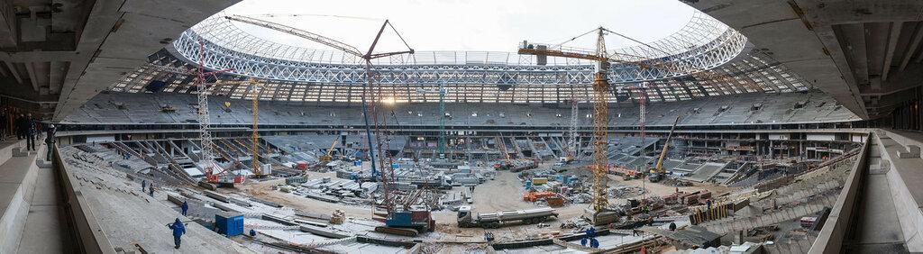 Панорама стадиона (кликабельно)