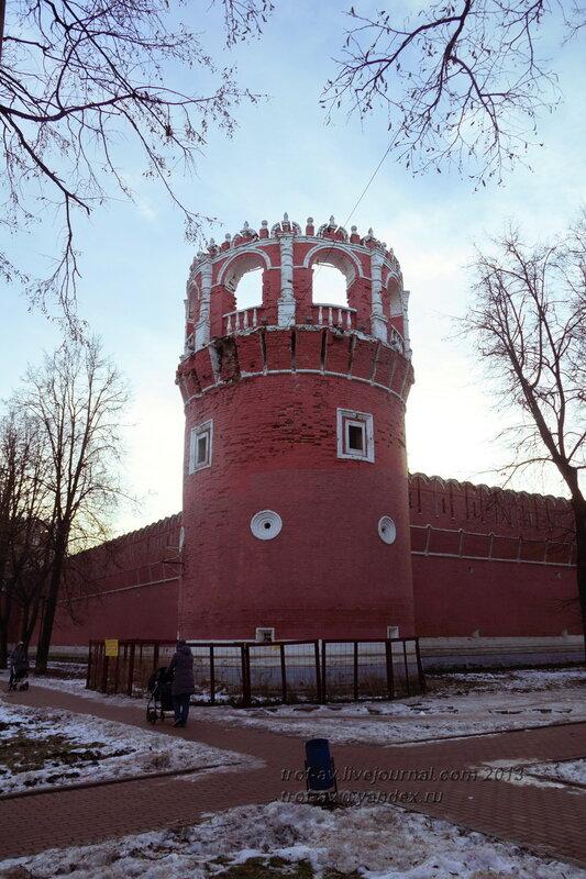 Северо-восточная угловая башня, Донской монастырь, Москва
