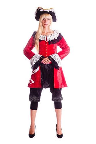 Женский карнавальный костюм Пиратка