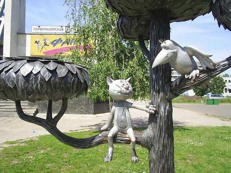 Памятники в воронеже коту от памятники тольятти признание в любви