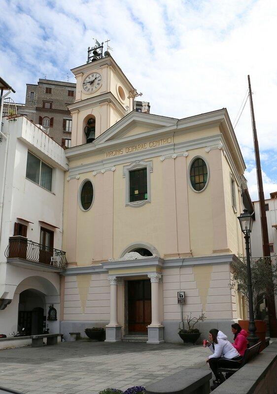 Сорренто. Церковь Святой Анны (Parrocchia Di Sant'Anna)