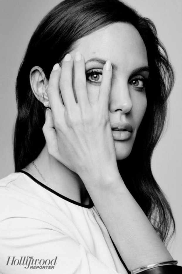 Анджелина Джоли (Angelina Jolie) в журнале The Hollywood Reporter