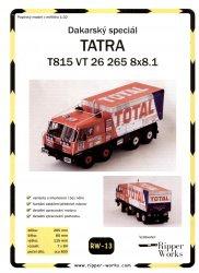 Журнал Tatra T815 VT26 265 8X8.1 (Ripper Works 013)