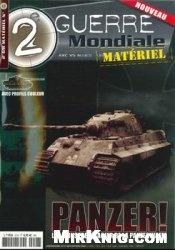Журнал Panzer! Les Monstres D'Acier de la Panzerwaffe (2e Guerre Mondiale Material)