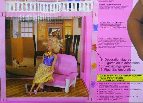 Кукольный домик 3 комнаты My Pretty Doll House 97 деталей