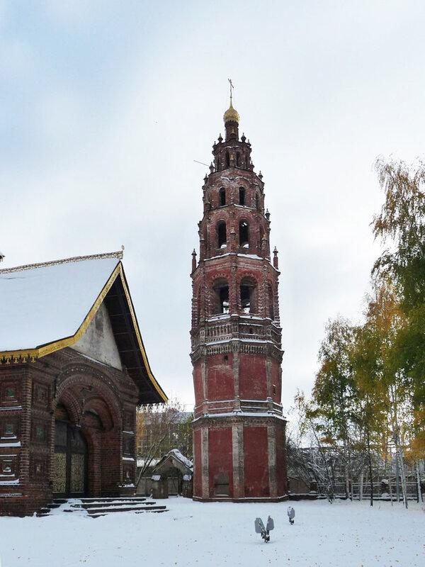 Колокольня церкви Иоанна Предтечи в Толчкове