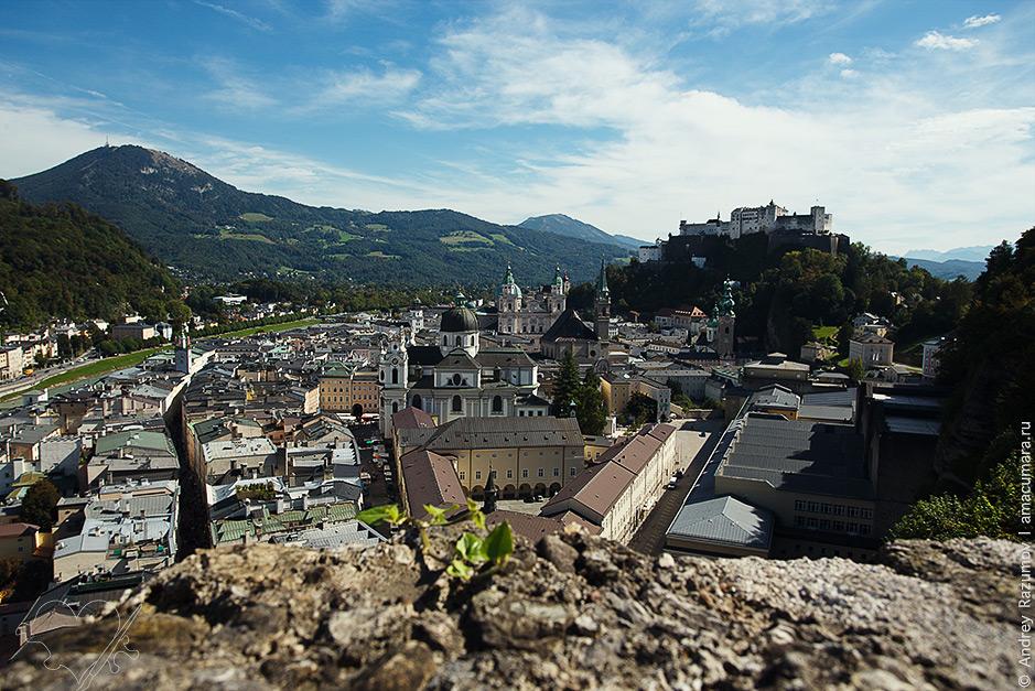 что посмотреть в Зальцбурге за Гора Капуцинерберг