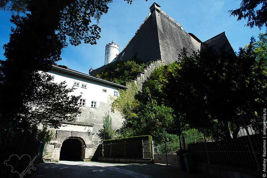 что посмотреть в Зальцбурге за один день Крепость Хоэнзальцбург