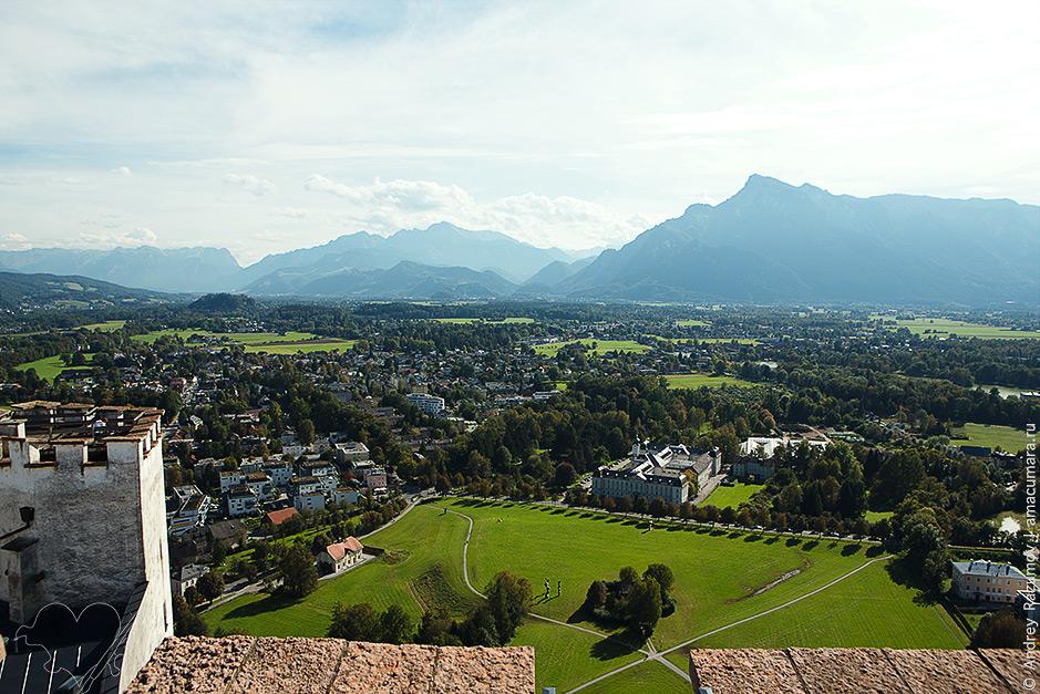 что посмотреть в Зальцбурге за Крепость Хоэнзальцбург
