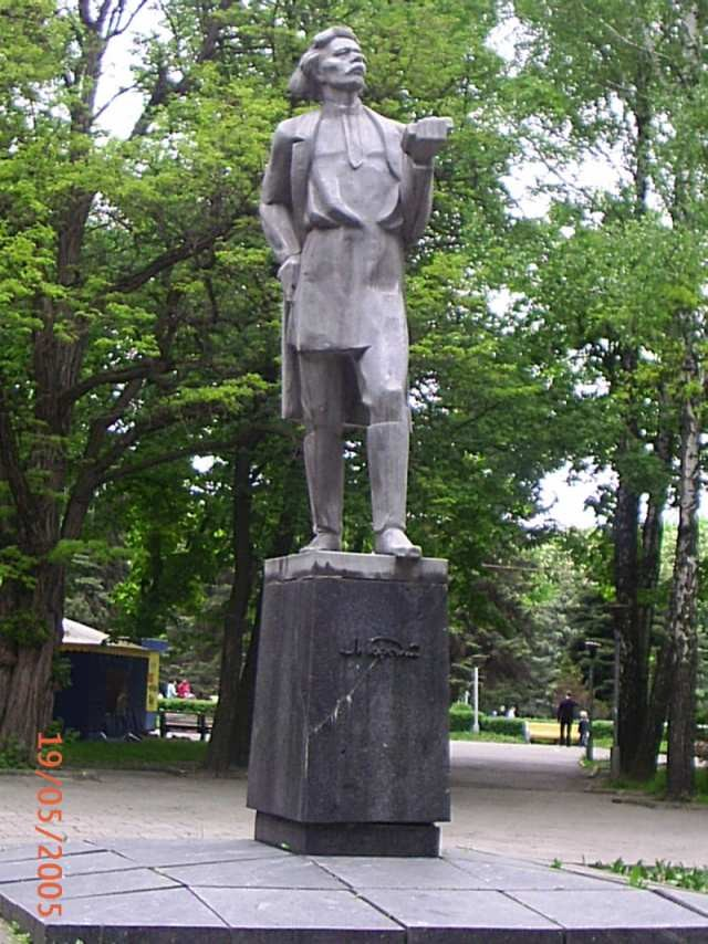 Памятник Максиму Горькому в Винице