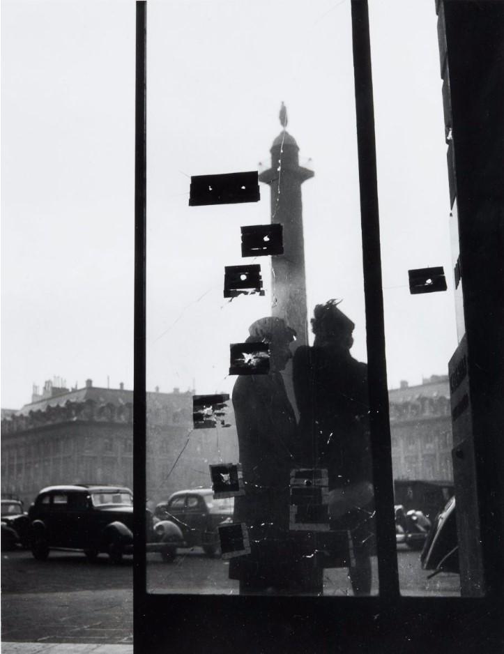 1945. Следы от пуль после сражений за освобождение Парижа