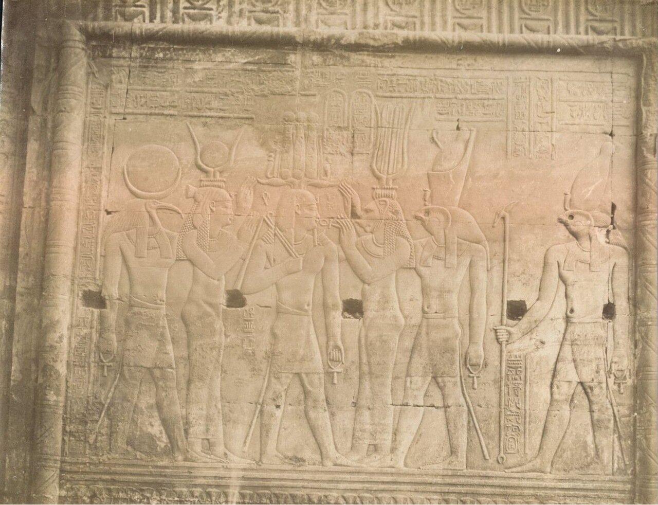 Луксорский храм. Рельеф