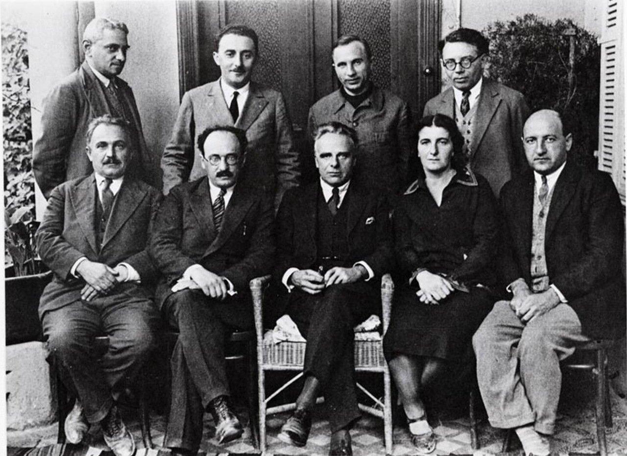 1930.  Голда Меир в гостях у британской лейбористской партии