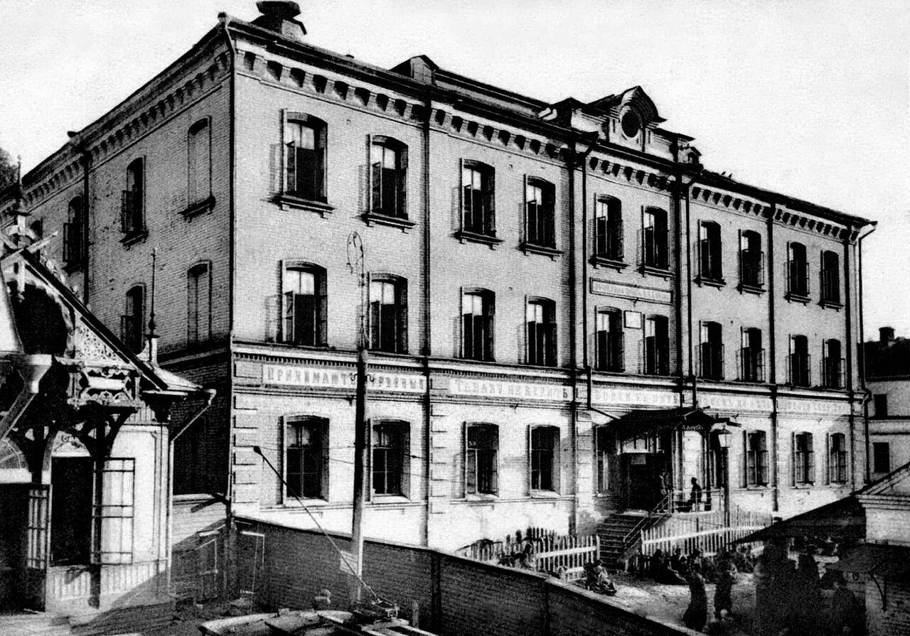 Улица Рождественская. Здание ночлежного дома Бугрова Н.А.