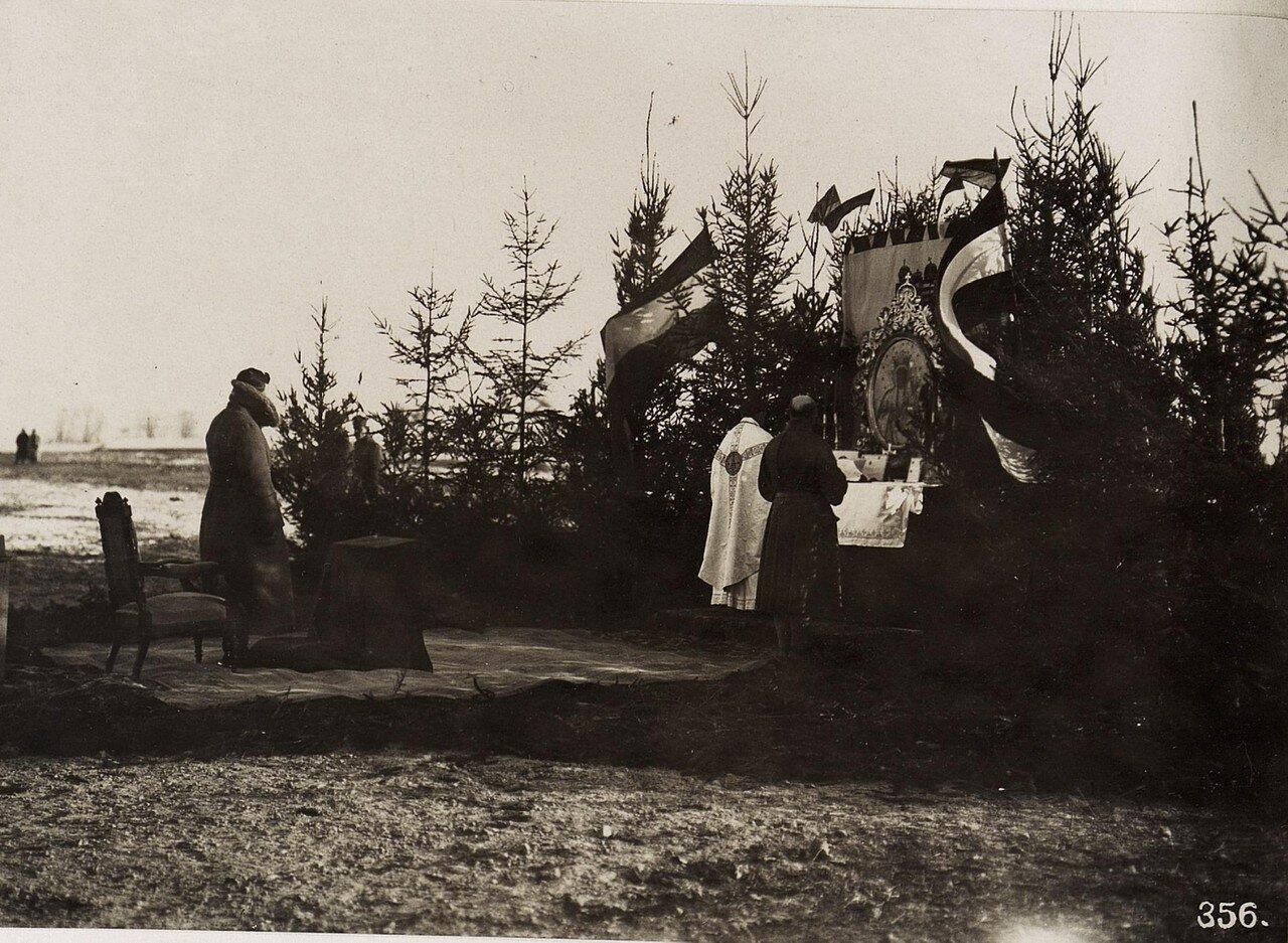 Feldmesse mit Kaiser Karl in Wladimir Wolinsky