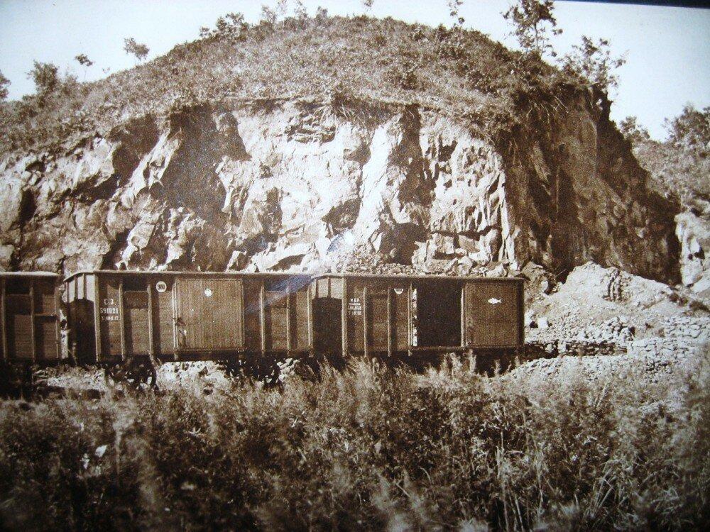 15. Каменный карьер на берегу Буреи