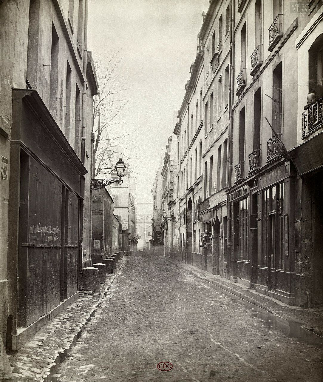 Рю Фонтен. 1866