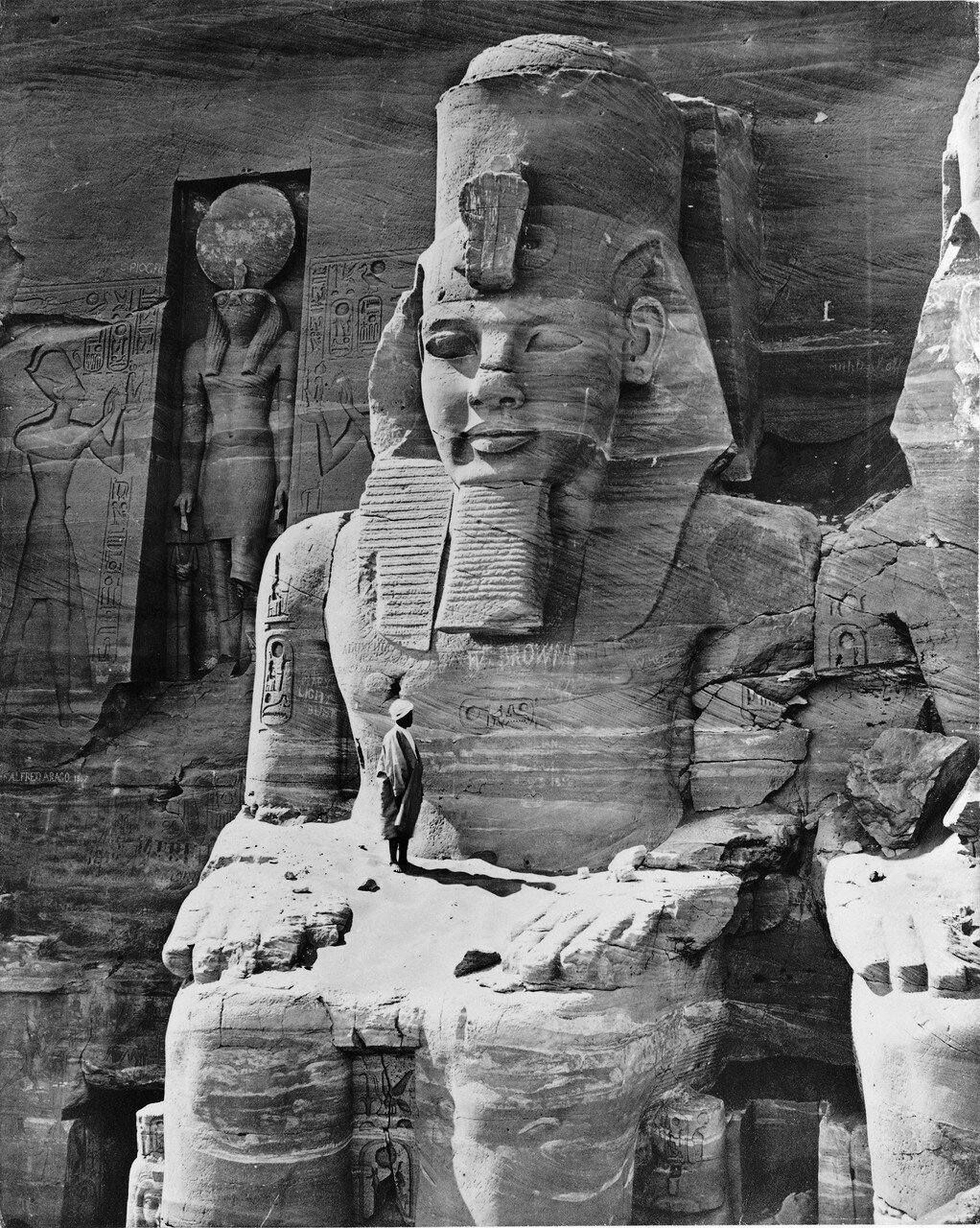 Абу-Симбел. Колосс Рамзеса II