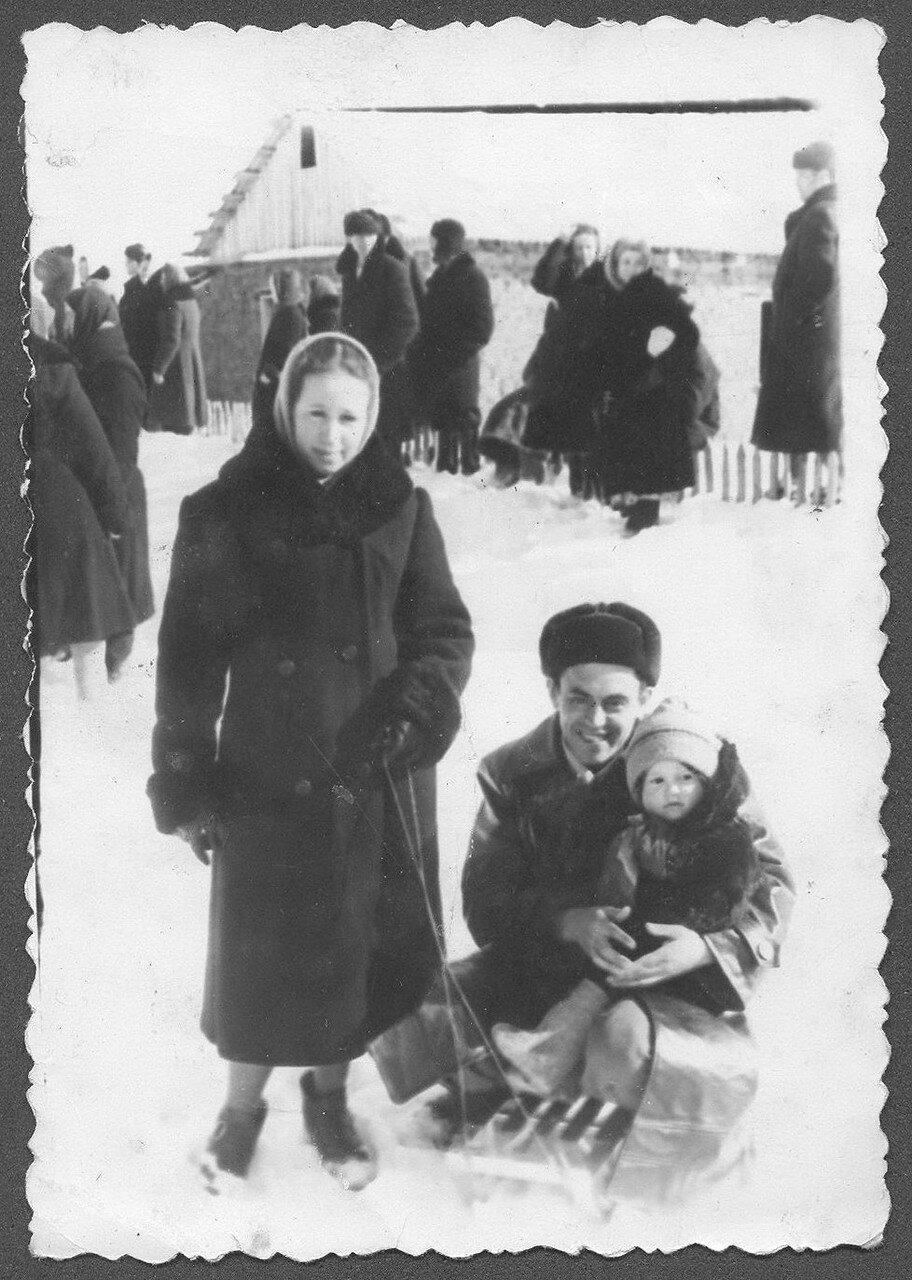 Северный Казахстан. 1958