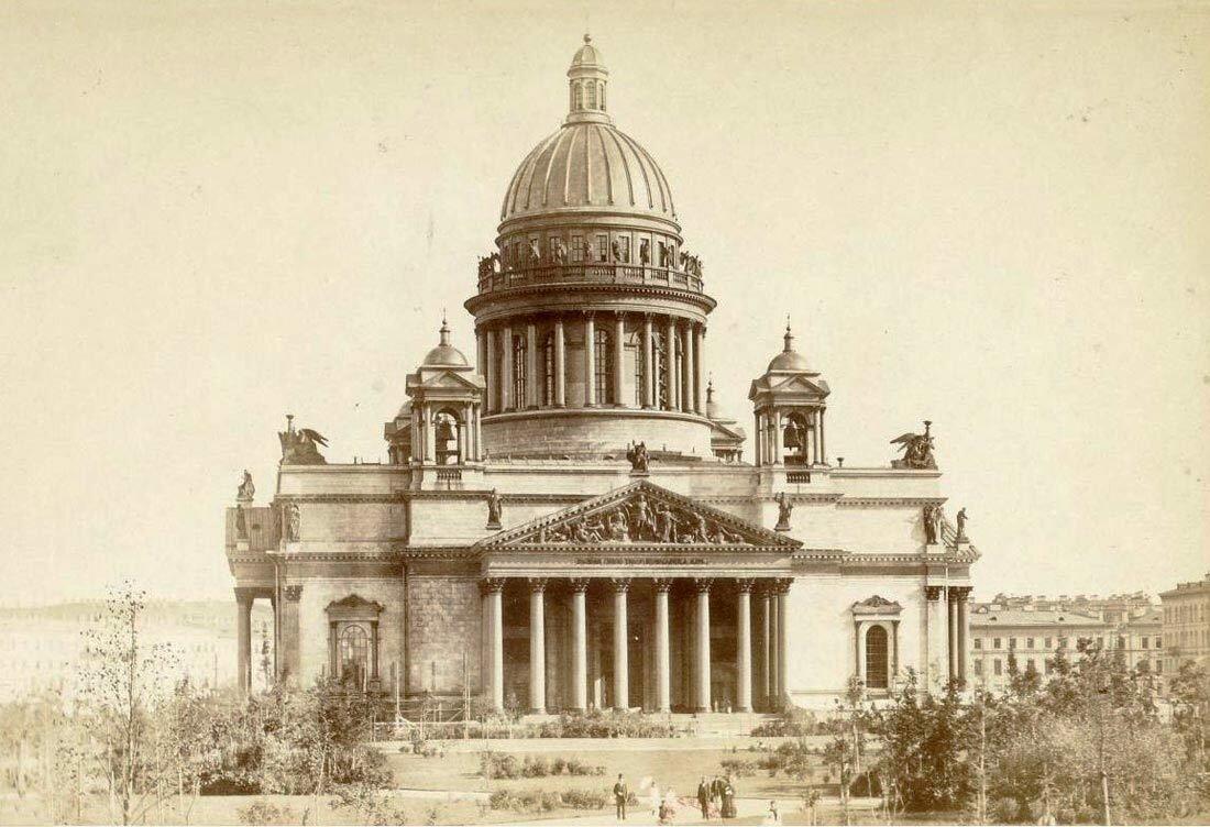 Исаакиевский собор.1860-1880