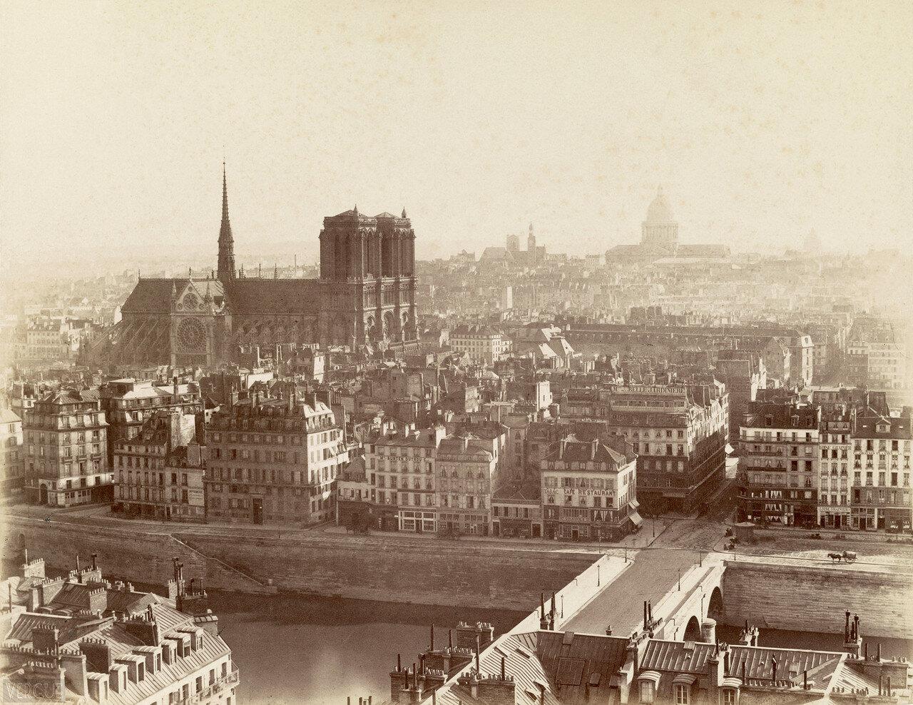1864. Иль-де-ла-Сите
