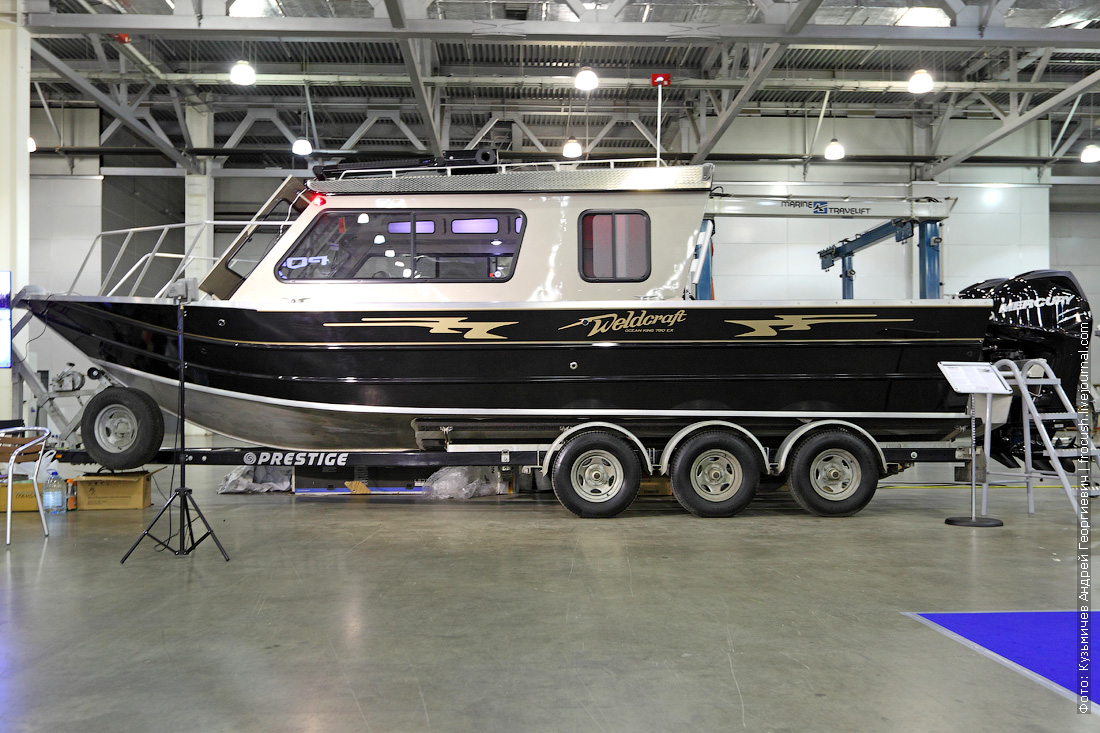 Weldcraft 260 Ocean King выставка катеров и яхт