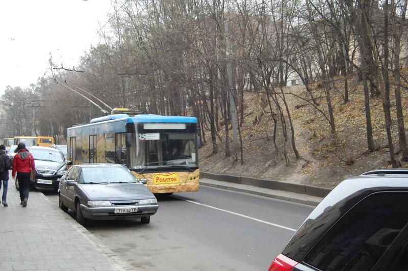 троллейбусы и трамваи