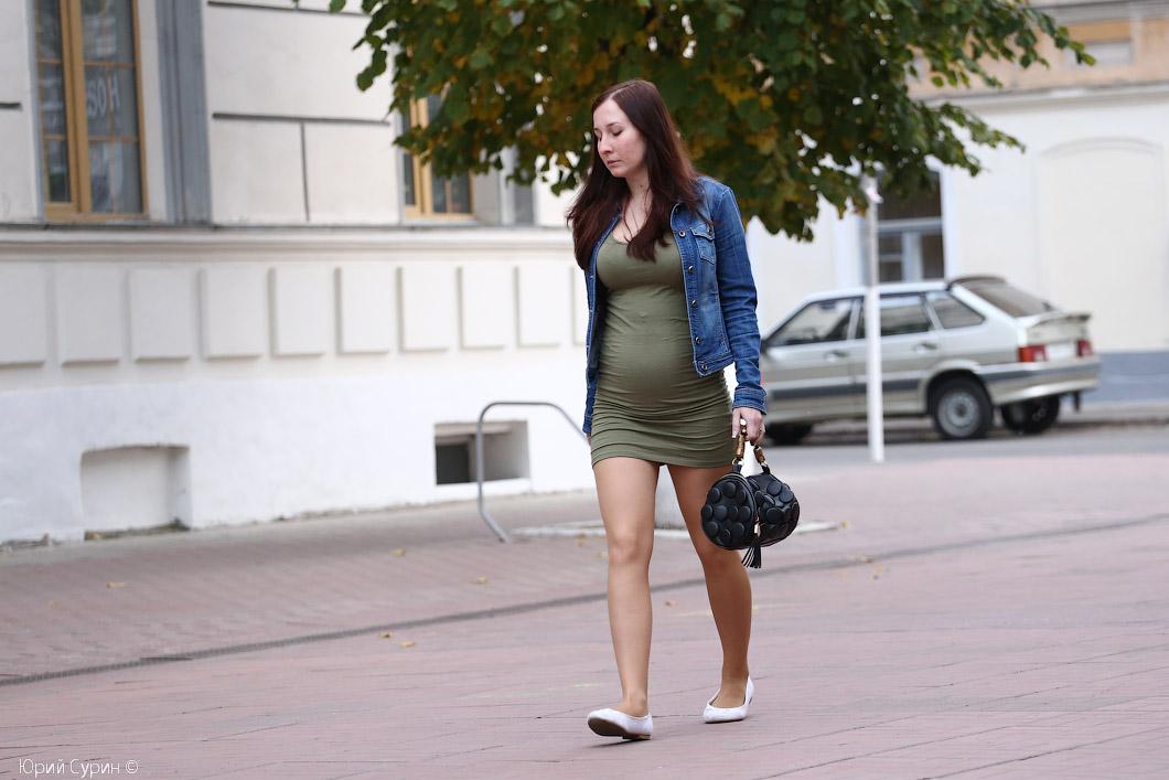 голые русские девочкина улице