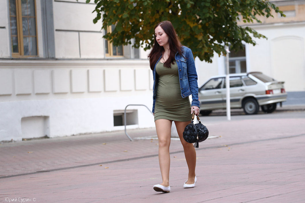 Девушку на улице русское