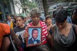 Нью-Йорк выплатит $5,9 млн семье убитого афроамериканца